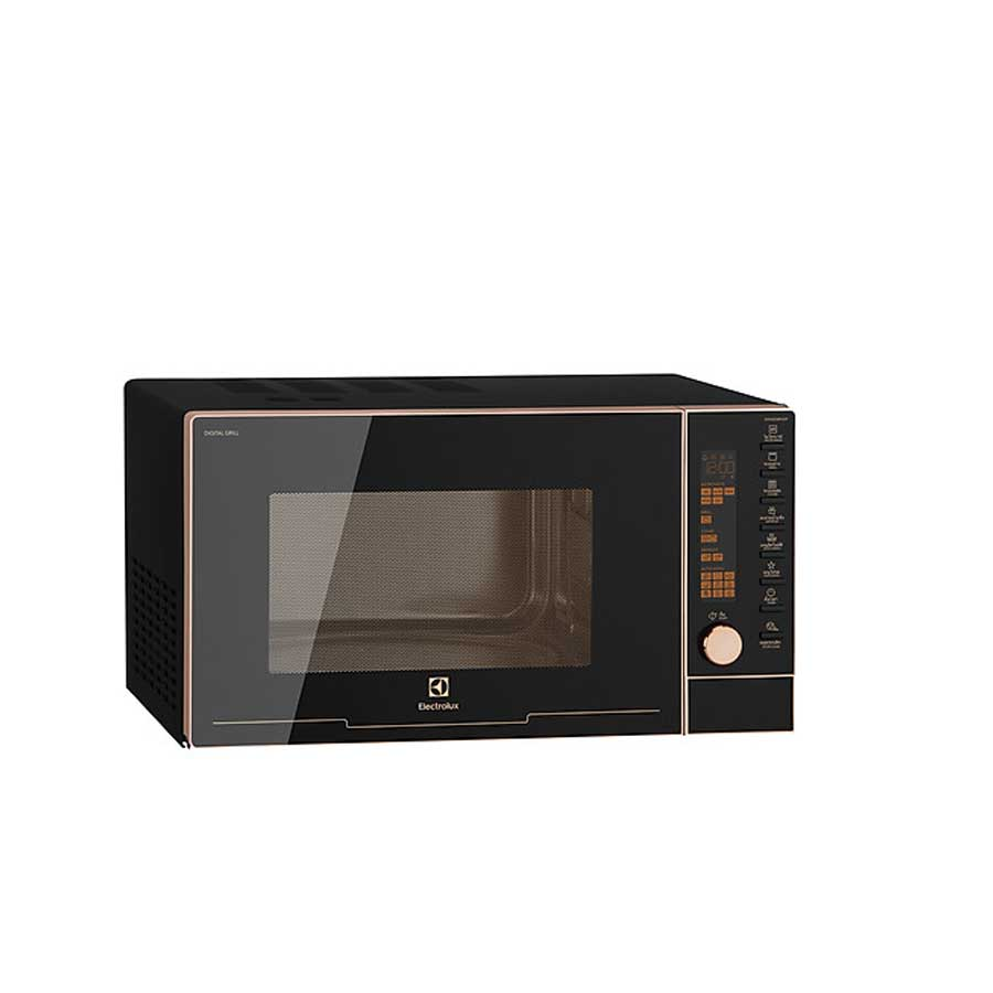 Lò vi sóng ELectrolux 25L EMG25D89GGP Rosegold - Điện tử có nướng 1000W; 9  chương trình; Vi